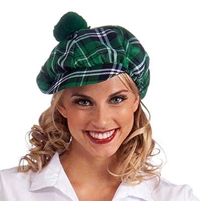 St. Patricks Day Plaid Gatsby Hat