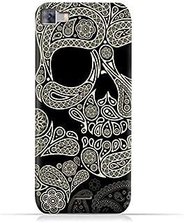 Infinix Zero 3 X552 TPU Silicone Protective Case with Skull & Piesley Design