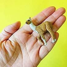 ZAMTAC 10Pcs/Alpaca/Miniatures/Lovely Cute/Fairy Garden gnome/Moss Terrarium Decor/Crafts/Figurine/Statue/DIY Supplies - (Color: 10 pcs)
