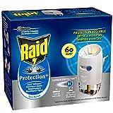 Raid Insecticides Ménagers Electrique Liquide Diffuseur Protection+ 60 Nuits - Lot de 2
