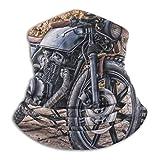 XXWKer Calentador de Cuello Deporte Calentador Pasamontañas Polar Máscara Motorcycle USA Chrome Gloss Neck Gaiter Warmer Windproof Face Dust for Men Women