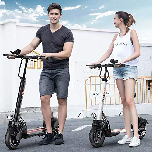 MRMRMNR 48V 500W E-Scooter Electric Scooter Adults, Commuting Motorized Scooter Suitable for Adults Teenager, 110KM Battery Life, Intelligent Anti-Theft, 200KG Bearing,Cruise Control