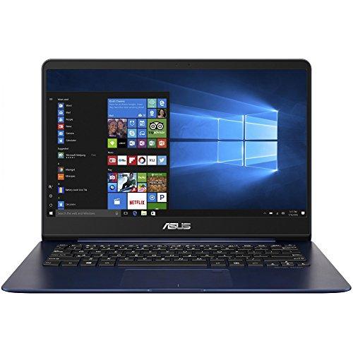 Asus ZenBook UX430UQ-GV019T Notebook, Display da 14' Full HD, Processore Intel Core i7-7500U, 2.7 GHz, RAM da 8 GB, SSD da 512 GB, nVidia GTX 940MX, 2 GB, Blu