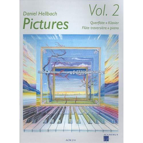 Acanthus Music 'Pictures Vol.2' mit CD: für Querflöte und Klavier