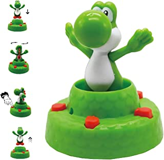 Toydaze Yoshi Mario Toy Pop-up Green Yoshi Interactive Game Toy for Kids, Super Mario Bros Pop-up Yoshi Fun Play Toy, Original Limited Version