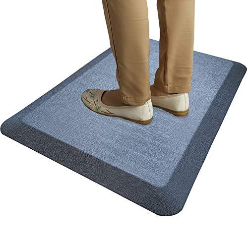 HEALEG Anti-Vermoeidheid Mat Comfort Vloermat Staande Bureau Mat voor Office en Thuis Keuken Tapijten