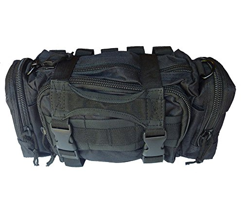 Renegade Survival First Aid Kit By for Camping and Hiking or Home and Workplace. It Is a Complete Kit for the Prepper Who Wants the Best Tactical Gear (Black)