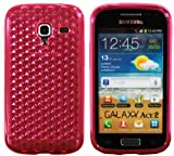 Luxburg® Diamond Design custodia Cover per Samsung Galaxy Ace 2 GT-I8160 colore rosa quarzo, custodia in silicone TPU