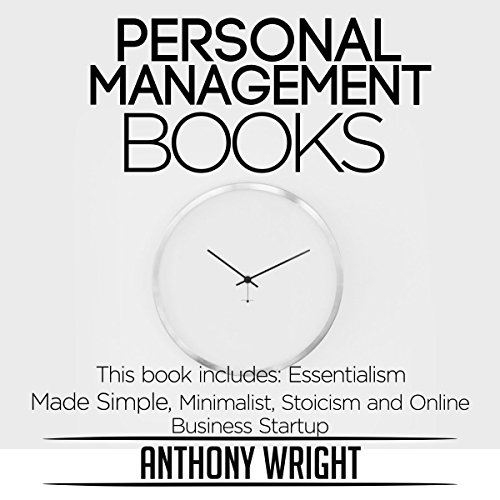 Personal Management Books audiobook cover art