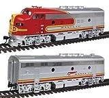 Walthers Escala H0 - Set Locomotoras Diesel F3 Desde Santa Fe DCC + Sonido