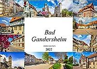 Bad Gandersheim Impressionen (Wandkalender 2022 DIN A2 quer): Die Kurstadt Bad Gandersheim festgehalten in zwoelf wunderschoenen Bildern (Monatskalender, 14 Seiten )