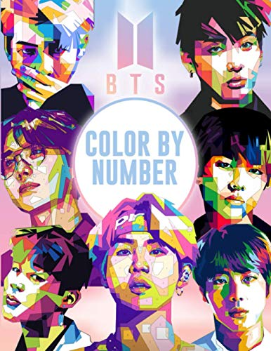BTS Color By Number