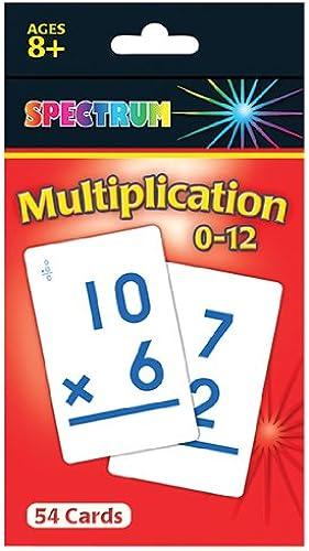 Carson Dellosa CD-734008 Spectrum Flash Cards Multiplikation