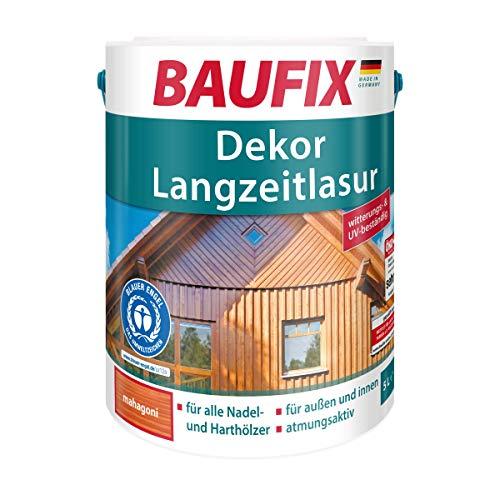 BAUFIX Dekor Langzeitlasur, mahagoni, 5L