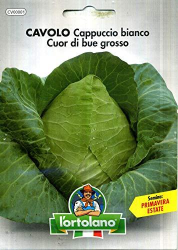 L'Ortolano Semences horticoles de qualité dans paquet thermoscellé (160 variétés)
