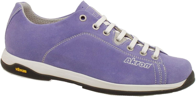 AKRON Suede Fashion shoes, Vibram Sole + EVA, Focus purple Crocus 41