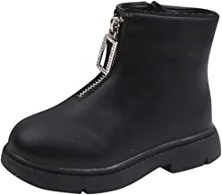 Ankle Boots,Little Kids Boots Boys Girls Winter Warm Baby Toddler Infant Retro Shoes Short Booties