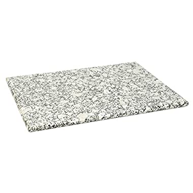 Home Basics Granite Cutting Board (12  x 16 , White)