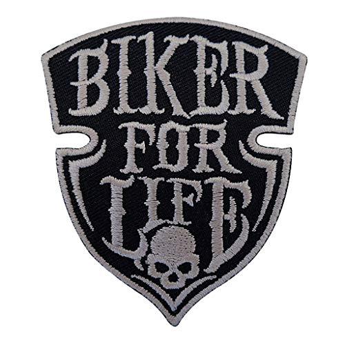 Patch Skull Biker for Life @ KUSTOM FACTORY