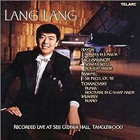 Lang Lang: Live at Seiji Ozawa Hall, Tanglewood by Lang Lang (2001-02-27)
