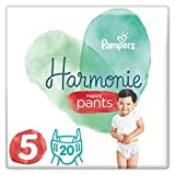 Pampers Couches Culottes Taille 5 Harmonie Nappy Pants 12-17 kg - 20 Unités x Lot de 4