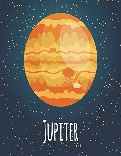 Jupiter: Jupiter cover and Dot Graph Line Sketch pages, Extra large (8.5 x 11) inches, 110 pages, White paper, Sketch, Draw and Paint (Jupiter notebook, Band 1)
