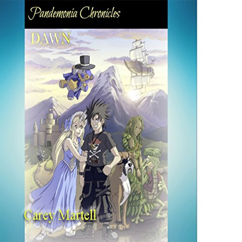 Pandemonia Chronicles: DAWN audiobook cover art