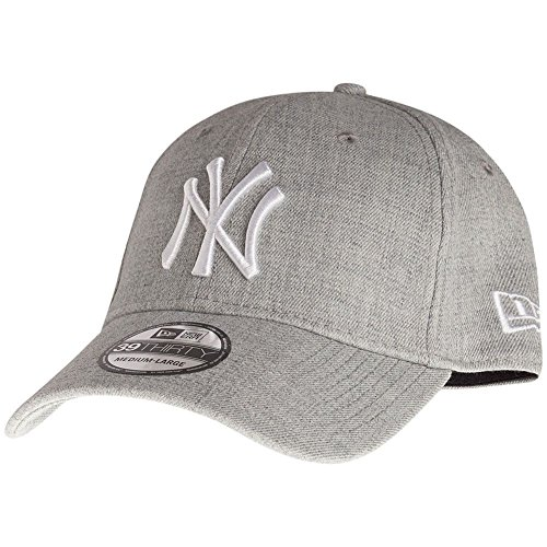 New Era 39Thirty Flexfit Cap - NY Yankees Heather Gris