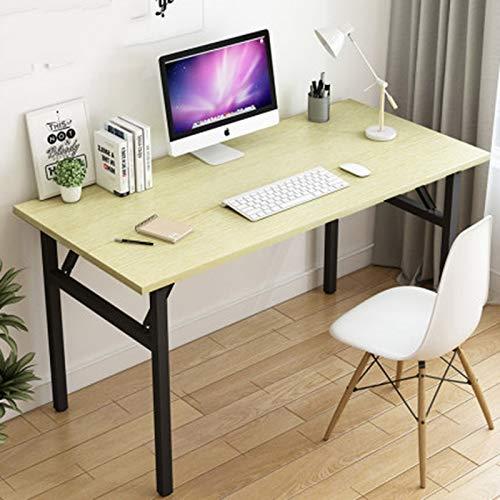 Huoqilin klaptafel, klein, voor slaapkamer, kantoor, thuis, kantoor, studenten, opvouwbaar 100*50cm Wit