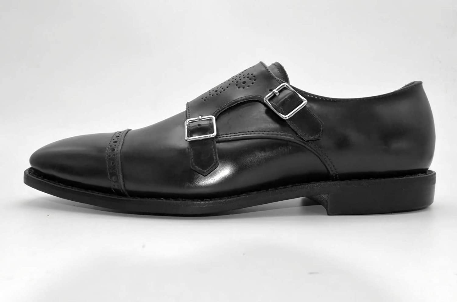 Goodyear Welted Brogue Double Strap Monk Cash special price Shoes 55% OFF