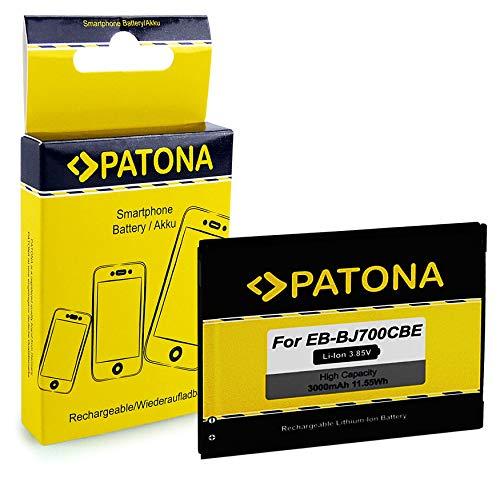 PATONA Batería EB-BJ700CBE 3000mAh Compatible con Samsung Galaxy J7, SM-J700, SM-J700H