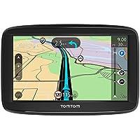 TomTom Start 52, GPS para coche, 5 pulgadas, mapas de la UE para toda la vida y pantalla resistiva