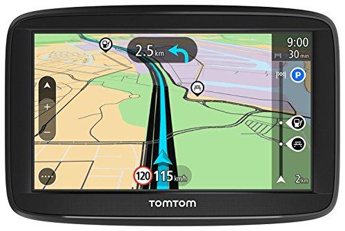 TomTom Navigatore Satellitare per Auto Start 52, con Mappe Europa, Aggiornamenti Tutor e Autovelox di Prova, Supporto Reversibile Integrato, 5 Pollici