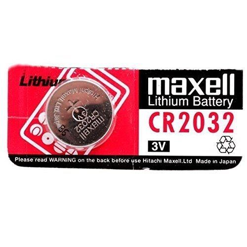 Vconcal(TM) 10 Maxell CR2032 Télécommande Clé 2032 batterie BATTERIES