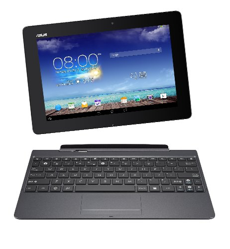 Asus TF701T-1B034A Transformer Pad, Tablet e Docking, 10.1 Pollici, NVIDIA Tegra 4, Quad Core 1.7GHz, Grigio