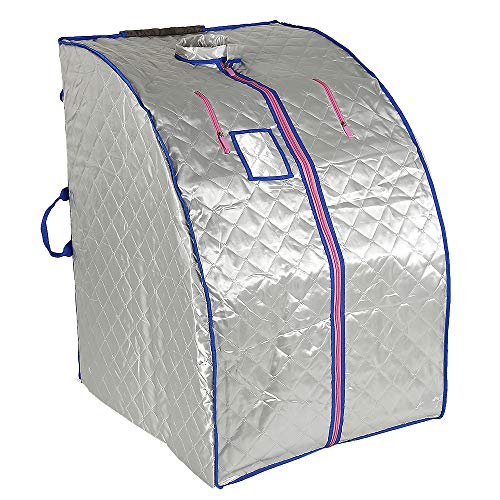 Sauna a infrarossi e portatile Home spa per una persona Ideale per disintossicazione e perdita di peso 70 cm x 80 cm x 98 cm