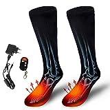 AUED Beheizte Socken, Wiederaufladbare Heizung Socken Heizung warme Socken Beheizbare...