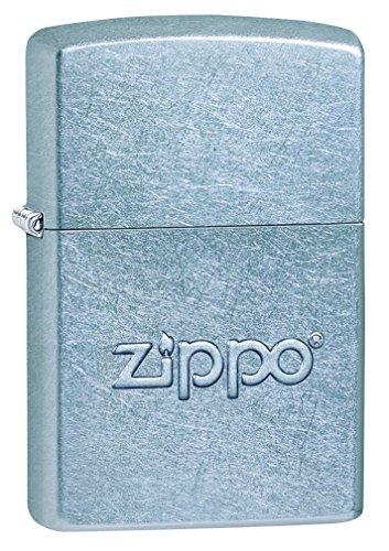 Zippo 60000858 Stamp, Laiton, Street Chromé, 3,5x1x5,5 cm