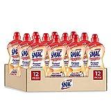 Smac Express, Pavimenti Parquet e Cotto, Detergente Superfici Delicate con Agente Protettivo, Azione Pulente Senza Risciacquo, 1000 ml x 12 Pezzi