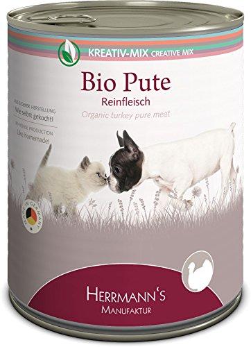 Herrmanns Bio Pute 100 Prozent, 6er Pack (6 x 800 g)