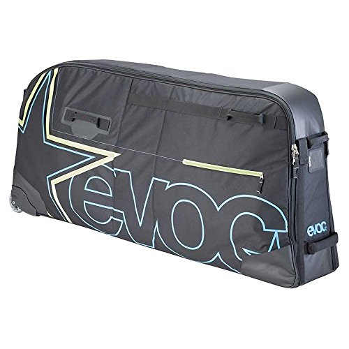 EVOC Fahrradtasche Bmx Travel Bag Fahrrad Transporttasche, Black, 130 x 27 x 60 cm