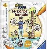 Ravensburger - Livre interactif tiptoi Mini Doc' - Le corps humain - Jeux électroniques éducatifs sans écran en français - Enfants à partir de 4 ans - 00030