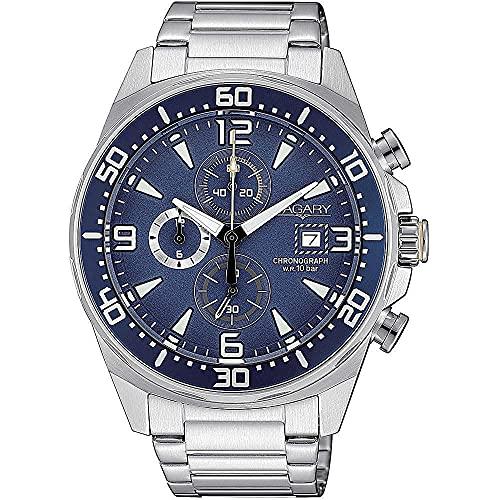 orologio cronografo uomo Vagary By Citizen Aqua 39 casual cod. VA1-013-71