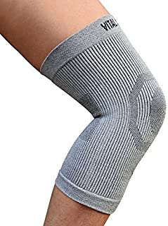 Vital Salveo-Compression Recovery Knee Sleeve/Brace C3-Comfort, Pain Relief, Protects Joint - Ideal for Sports and Daily Wear (Large)