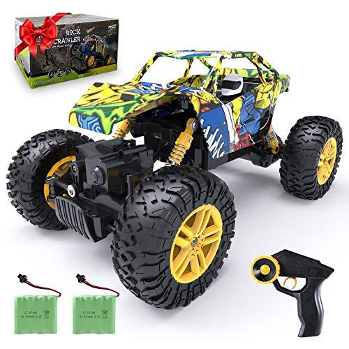 DDYX2020 Doodle Voiture Télécommandée 52 km/h 1:18 RC Voiture Haute Vitesse 4WD 2.4 Ghz Voiture Jouet de Passe Temps pour Adultes et Enfant.