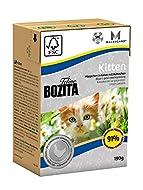 16 x 190g Kitten Feline Tetra Pak Saver Pack Bozita Wet Cat Food
