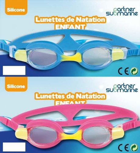 Partner Jouet - A1200510 - Jeu de Plein Air - Lunettes de natation enfant - Coloris aléatoire