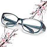 Anti Fog Safety Goggles Protective Glasses,Blue Light Blocking Eyeglasses for Men Women,UV410 Protection (Blue)