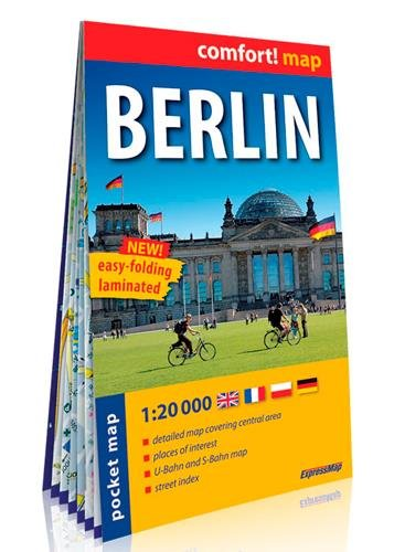 Berlín 1: 20.000 City Pocket plastificado (Comfort! Map)