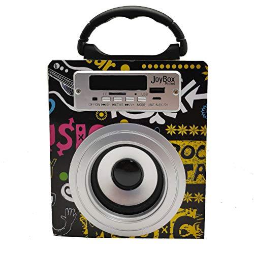 Biwond JoyBox Pocket Altavoz 5W (Bluetooth TWS, AUX, Radio FM, MicroSD, USB, Pantalla LED) – Band